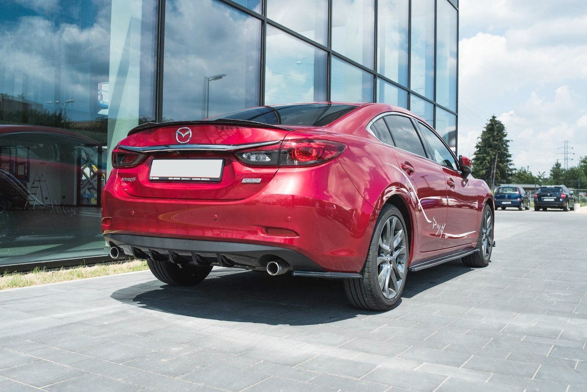 Lotka Lip Spoiler - Mazda 6 GJ (Mk3) Facelift - GRUBYGARAGE - Sklep Tuningowy